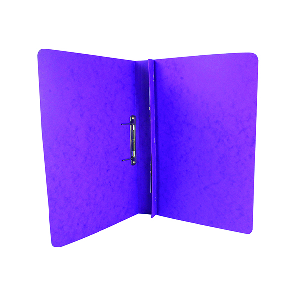 Exacompta Europa Spiral Files A4 Lilac (Pack of 25) 3004