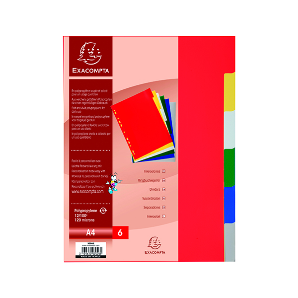 Exacompta Europa Spiral Files A4 Yellow (Pack of 25) 3006