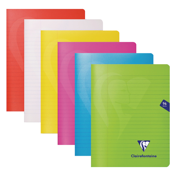 Clairefontaine Mimseys Notebook A5 Assorted (Pack of 10) 303745C