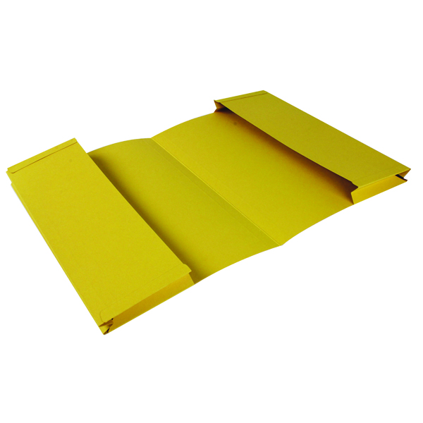 Guildhall 214-ylwz File - Yellow (Yellow, Legal, Landscape, 315 g/m², 7 cm)
