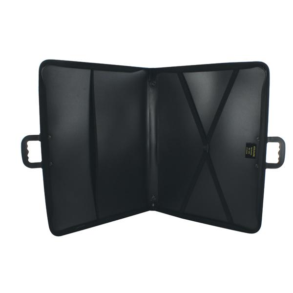 Goldline Zip Portfolio Lightweight Polypropylene A3 Black ZPC/A3