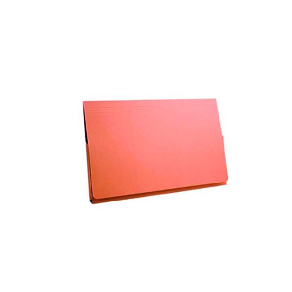 Exacompta Guildhall Full Flap Pocket Wallet Foolscap Orange (Pack of 50) PW2-ORG