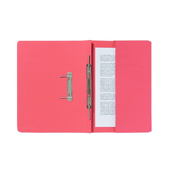 Exacompta Guildhall Pocket Spiral File 285gsm Orange (Pack of 25) 347-ORGZ