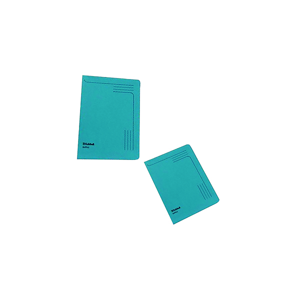 Exacompta Guildhall Slipfile Manilla 230gsm Blue (Pack of 50) 4601Z