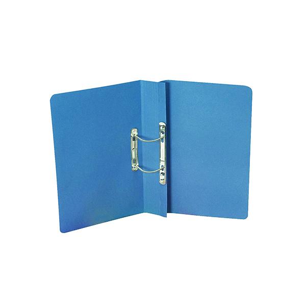 Exacompta Guildhall Transfer Spiral File 315gsm Foolscap Blue (Pack of 50) 348-BLU