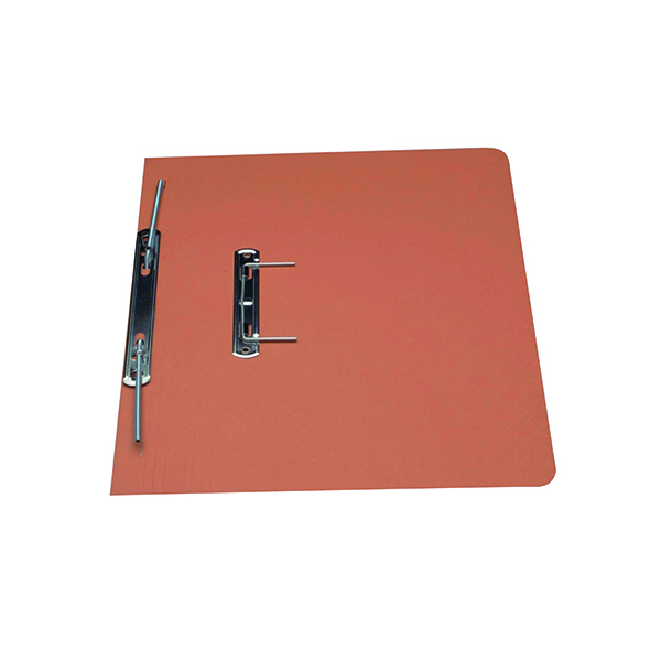 Exacompta Guildhall Heavyweight Transfer Spiral File 420gsm FC Orange (Pack of 25) 211/7004