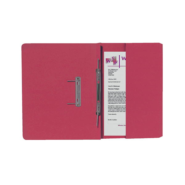 Exacompta Guildhall Right Hand Transfer Spiral Pocket File 315gsm FC Orange (Pack of 25) 211/9063Z