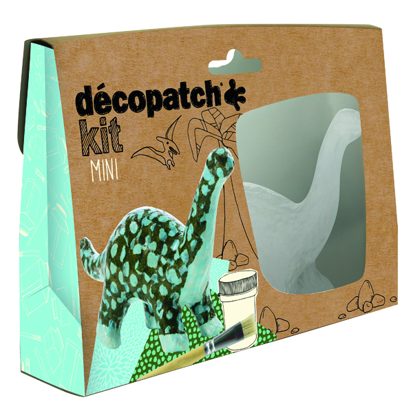 Decopatch Mini Kit Dinosaur (Pack of 5) KIT011O