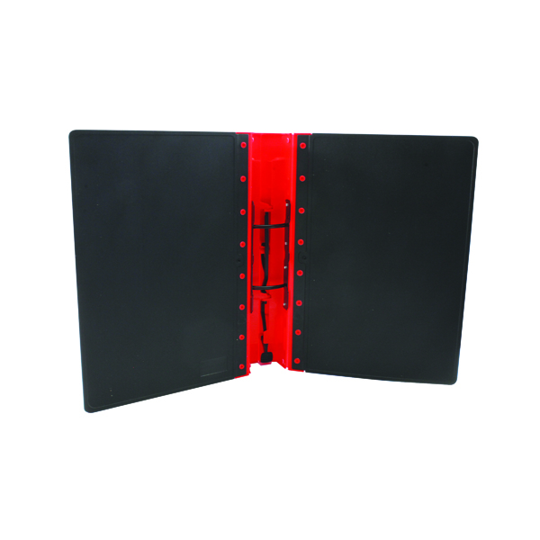 Guildhall GL Ergogrip 2 Ring Binder A4 Red (Pack of 2) 4510