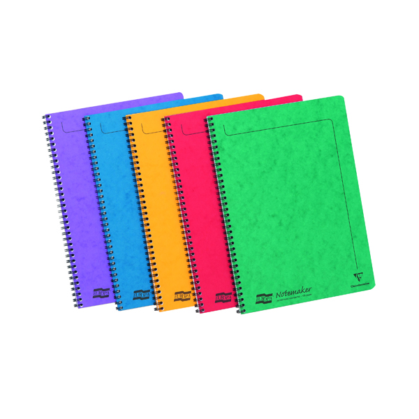 Clairefontaine Europa Notemaker A4 Assortment A (Pack of 10) 4860