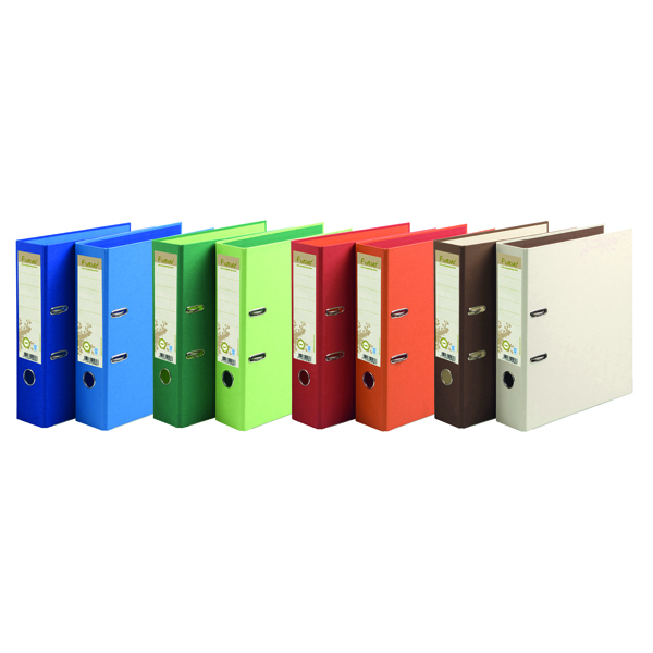Forever PremTouch Lever Arch File A4 80mm Assorted (Pack of 10) 53980E