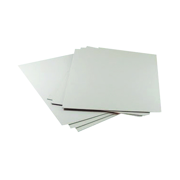 Goldline Mounting Board 1250 Micron A1 White (Pack of 10) GMB-119