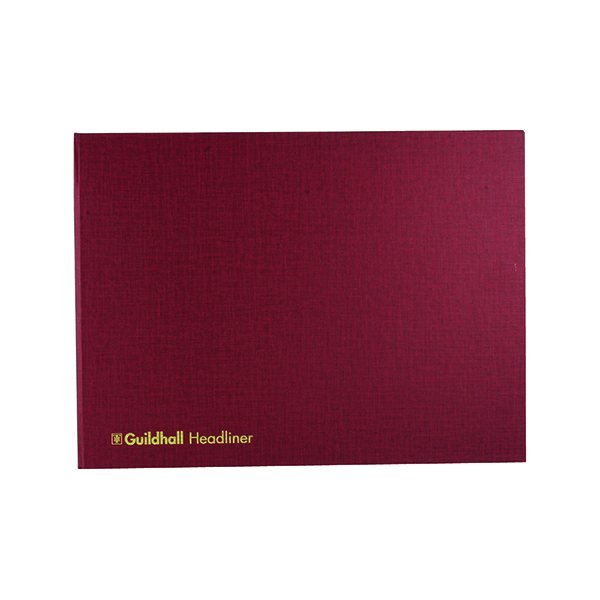 Exacompta Guildhall Headliner Book 80 Pages 298x405mm 68/6-20 1450