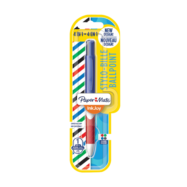 PaperMate InkJoy Quatro Ballpoint Pen 4 Colour (Pack of 12) 1985640