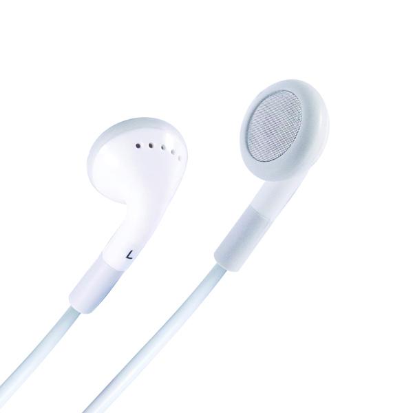 HP521 Stereo In-Ear Headphones White 24-1521