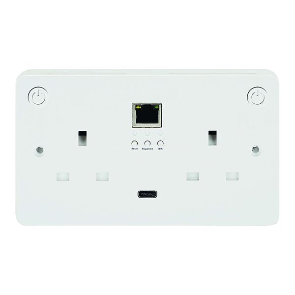 Connekt Gear Smart Wi-Fii All-In-One Sockets - Add-On Socket 27-3030/WIFI/1