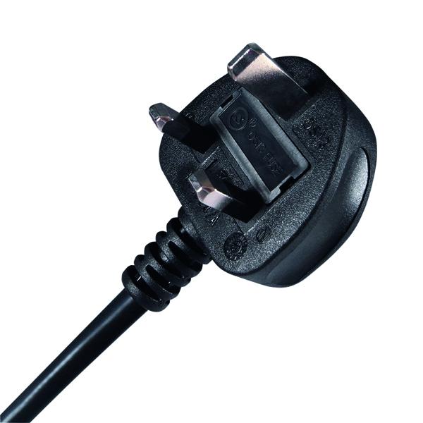 Connekt Gear IEC C13 UK Mains Power Plug 3m coppl0013