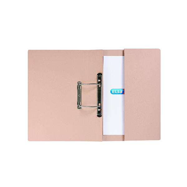 Elba Stratford Spring Pocket File 320gsm Foolscap Buff (Pack of 25) 100090145