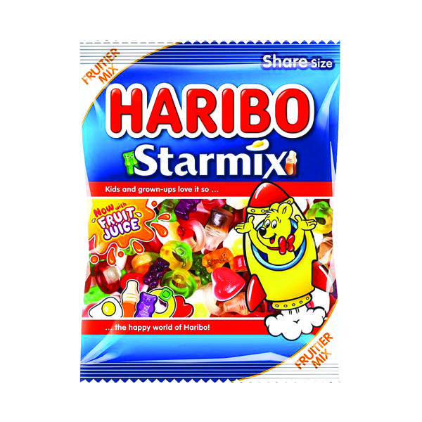 Haribo Starmix 140g Bag (Pack of 12) 730730