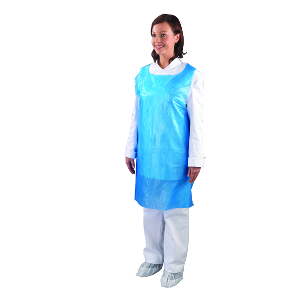 Shield Disposable Aprons on a Roll Blue (Pack of 1000) A2B/R