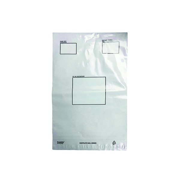 Strong Polythene Mailing Bag 235x320mm Opaque (Pack of 100) HF20209