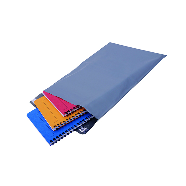 Polythene Mailing Bag 235x320mm Opaque Grey (Pack of 500)