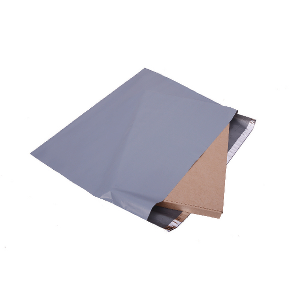 Polythene Mailing Bag 440x320mm Opaque Grey (Pack of 500)