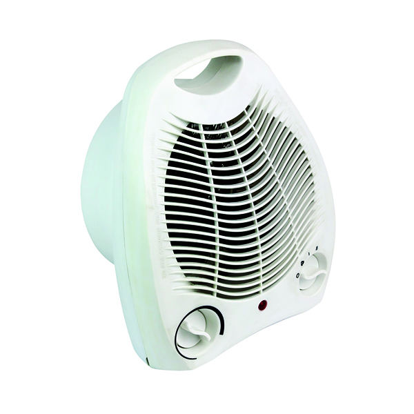Image for Fan Heater Upright 2kW White HID52553