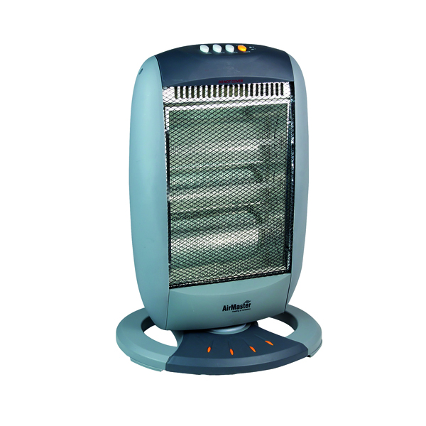 Image for Halogen 1200W Heater (3 Halogen Heat Bars and 3 Heat Settings) CRHH120/H