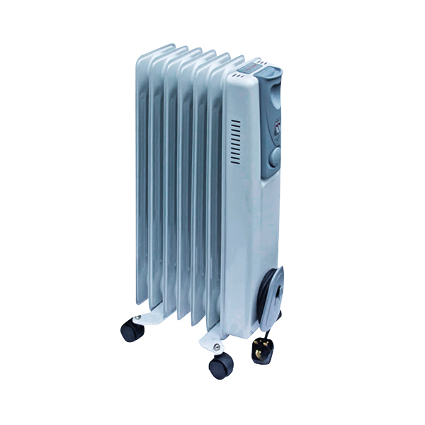 Image for 1.5kW Oil-Filled Radiator White CRHOFSL7/H 42690