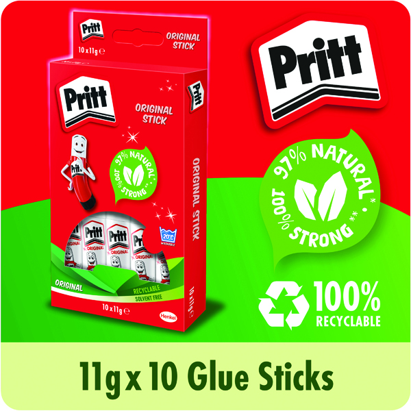 Pritt Stick Glue Stick 11g (Pack of 10) 1456040