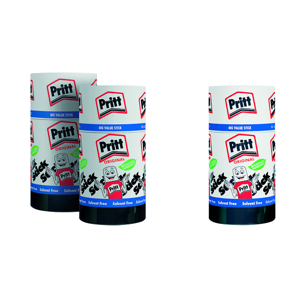 Pritt Stick Jumbo 90g (Pack of 6) Buy 2 Get 1 Free