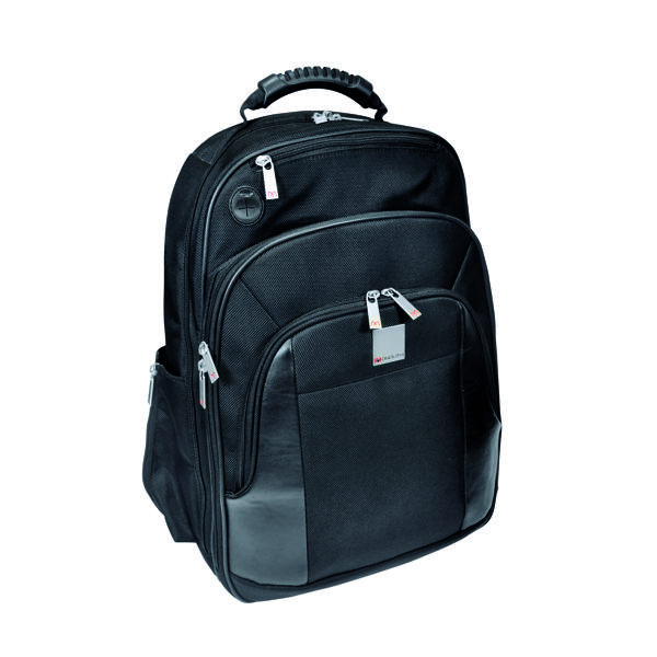 Monolith Executive Laptop Backpack W330 x D210 x H450mm Black 3012