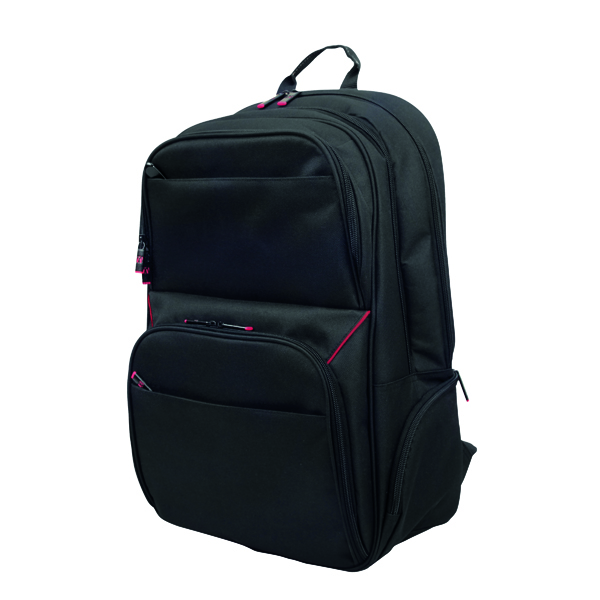 Monolith Lightweight Laptop Backpack W345 x D170 x H350mm Black 3205
