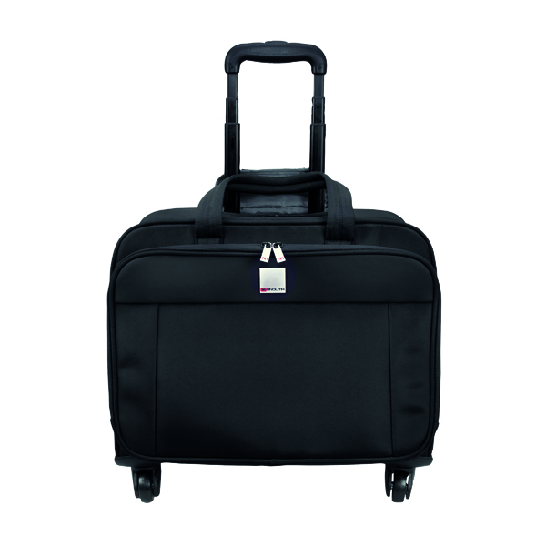 Motion II 4 Wheel Laptop Trolley Case W445 x D230 x H320mm Black 3208