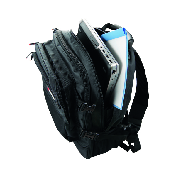 Monolith Premium Laptop Backpack W340 x D220 x H440mm Black 9106