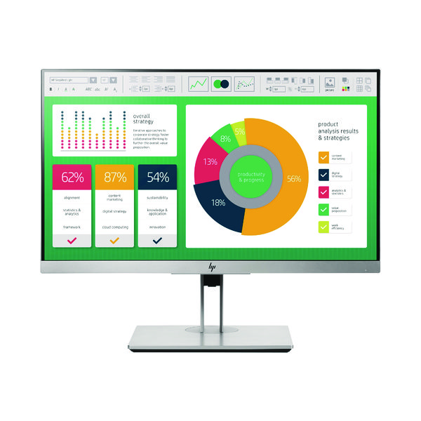 HP EliteDisplay E223 21.5 Inch Monitor 1FH45AA#ABU