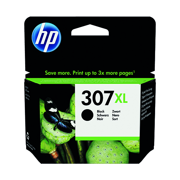 HP 307XL Extra High Yield Original Ink Cartridge Black 3YM64AE