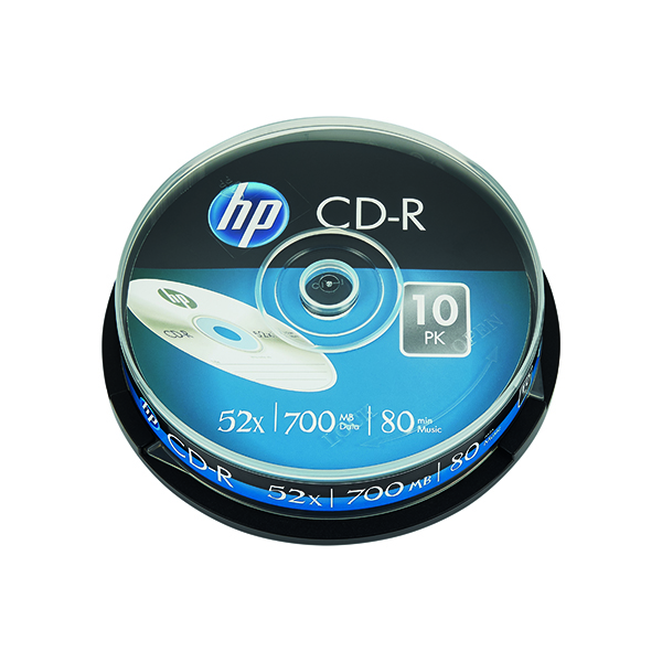 Image for HP CD-R 52X 700MB Spindle (Pack of 10) 69308