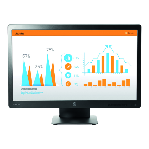Image for HP ProDisplay P232 Full HD LED Display 23 Inch Black K7X31AT#ABU