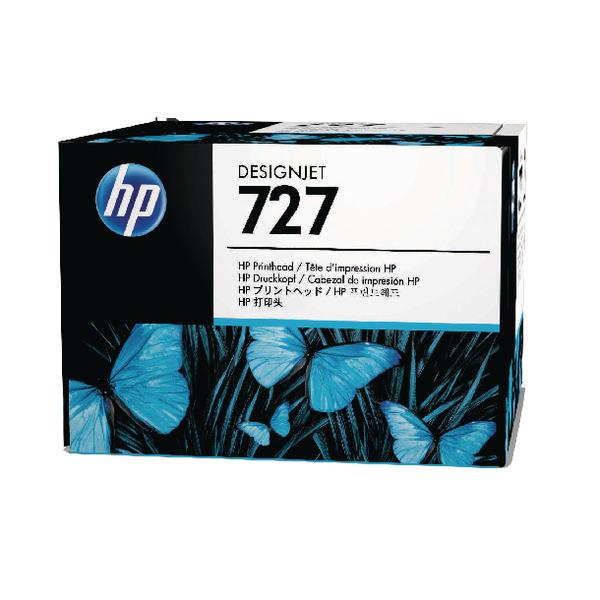 HP 727 Matte Black  Photo Black  Cyan Magenta Yellow Grey Designjet Printhead B3P06A