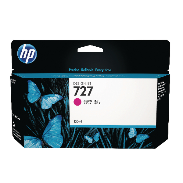 HP 727 Magenta High Yield Designjet Cartridge B3P20A