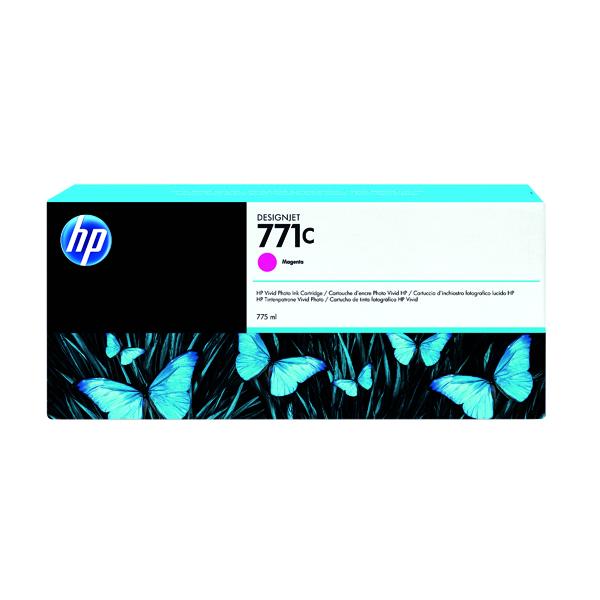 HP 771C Magenta Designjet Ink Cartridge B6Y09A