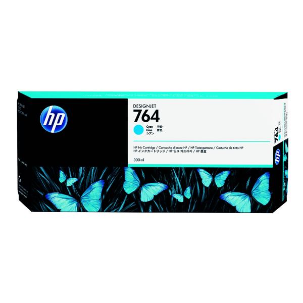 HP 764 Cyan Designjet Ink Cartridge C1Q13A