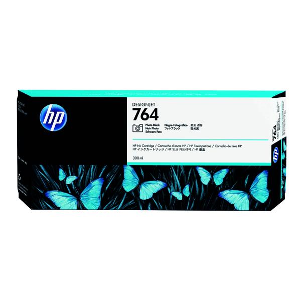 HP 764 Photo Black Designjet Ink Cartridge C1Q17A