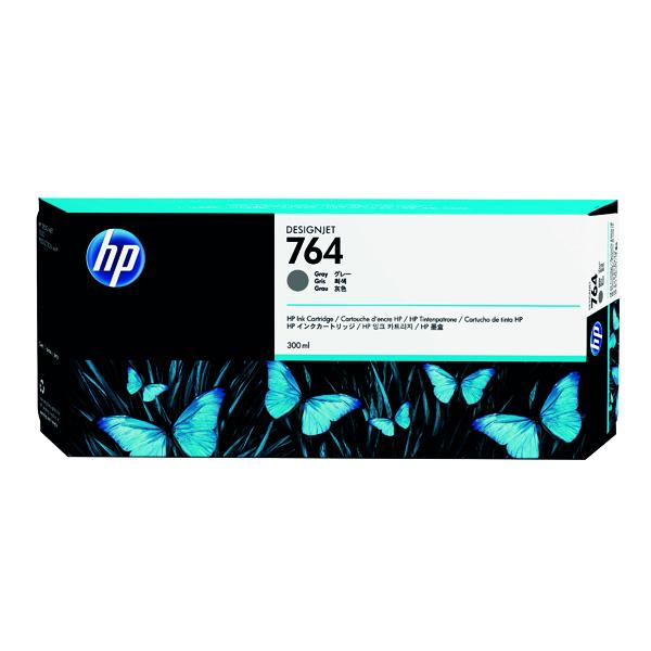 HP 764 Grey Designjet Ink Cartridge C1Q18A