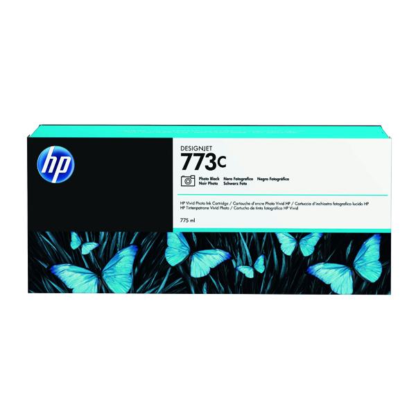HP 773C Photo Black Original Ink Cartridge C1Q43A
