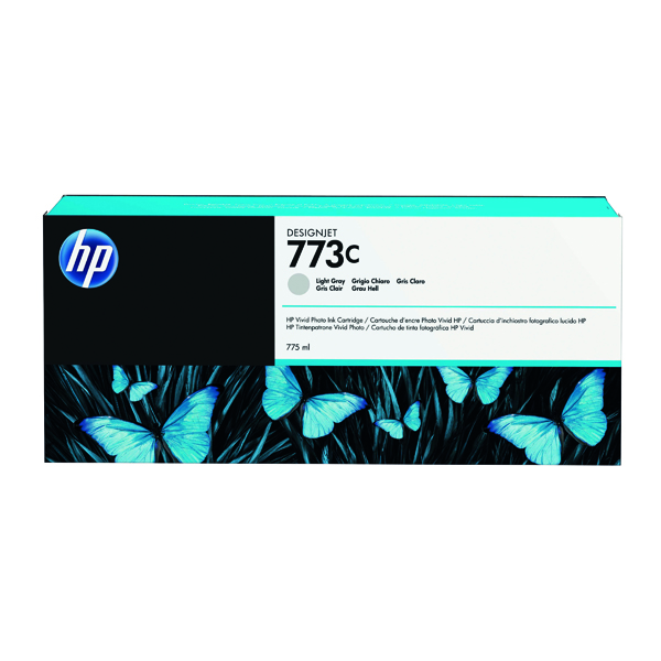 HP 773C Light Grey Original Ink Cartridge C1Q44A