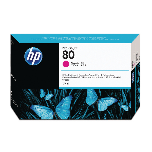 HP 80 Magenta Inkjet Print Cartridge C4874A