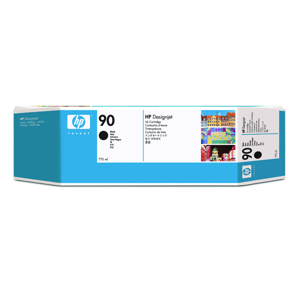 HP 90 High Yield Black Inkjet Cartridge C5059A